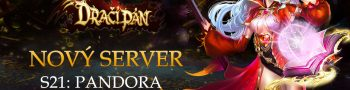 Nový server «S21: Pandora»