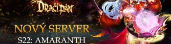 Nový server «S22: Amaranth»
