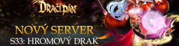 Nový server «S33: Hromový drak»