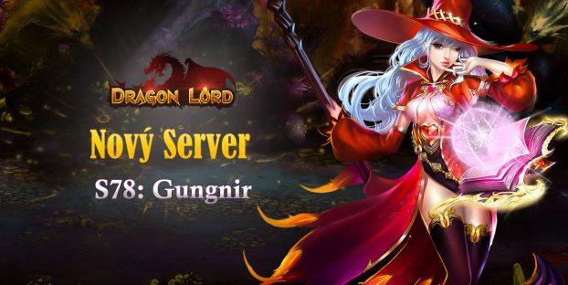 Nový server «S78: Gungnir»