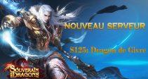 """Nouveau serveur – """"S125: Dragon de Givre"""""""