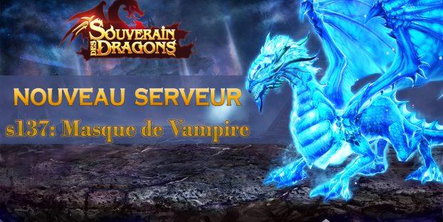 Nouveau serveur s137: Masque de Vampire