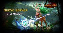Il nuovo server «S10: Mabeth» è già aperto!