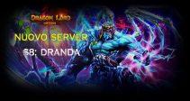Il nuovo server «S8: Dranda» è già aperto!