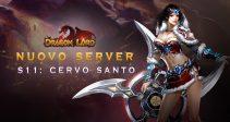 Il nuovo server «S11: Cervo Santo» è già aperto!