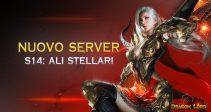 Il nuovo server «S14: Ali Stellari» è già aperto!