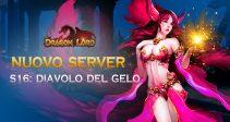 Il nuovo server «S16: Diavolo del Gelo»ti aspetta!