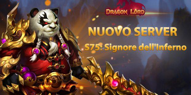 Il nuovo server S75: Signore dell'Inferno ti aspetta!