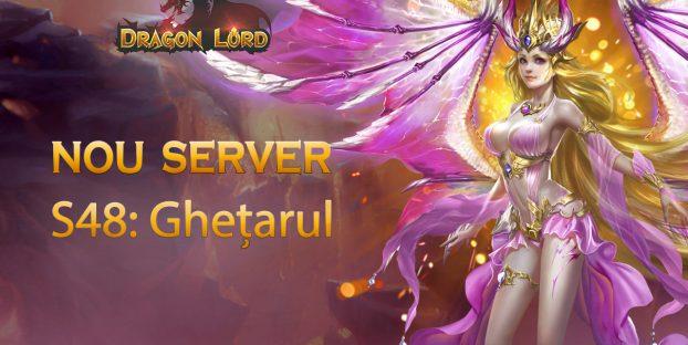 Serverul nou S48: Ghețarul vă așteaptă!