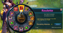 """Event """"Roulette"""" (07/18/2019)"""