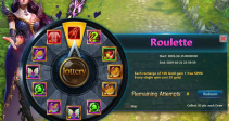 """Event """"Roulette"""" (10/15/2019)"""