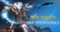 New server «S57: Steamwolf»