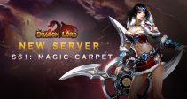 New server «S61: Magic Carpet»