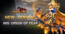 New server «S65: Origin of Fear» is already open!