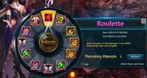 "Event ""Roulette"" (01/07/2020)"