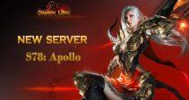 New server «S78: Apollo» is already open!