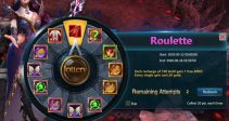"Event ""Roulette"" (05/12/2020)"