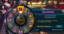 "Event ""Roulette"" (06/09/2020)"