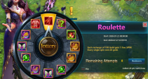 "Event ""Roulette"" (07/21/2020)"