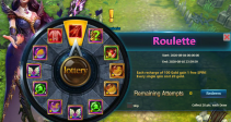 "Event ""Roulette"" (08/04/2020)"