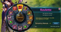 "Event ""Roulette"" (09/15/2020)"