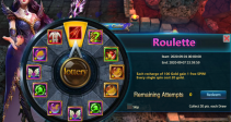 "Event ""Roulette"" (09/01/2020)"