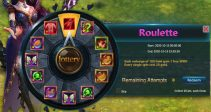 "Event ""Roulette"" (10/13/2020)"