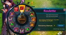 "Event ""Roulette"" (03/30/2021)"