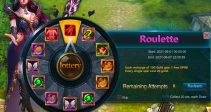"""Event """"Roulette"""" (06/01/2021)"""