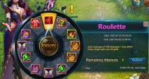 """Event """"Roulette"""" (07/27/2021)"""