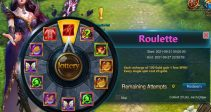 """Event """"Roulette"""" (09/21/2021)"""