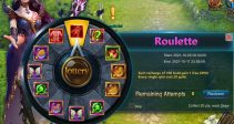 """Event """"Roulette"""" (10/05/2021)"""